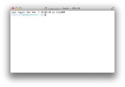 Macでターミナルを使う時のコマンドまとめ
