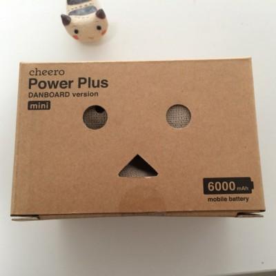 ダンボーのマルチデバイス対応 モバイルバッテリー「DANBOARD version -mini- 6000mAh」を買ったよー!
